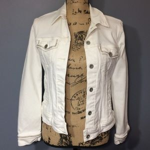 Ladies Levi's White Jean Jacket